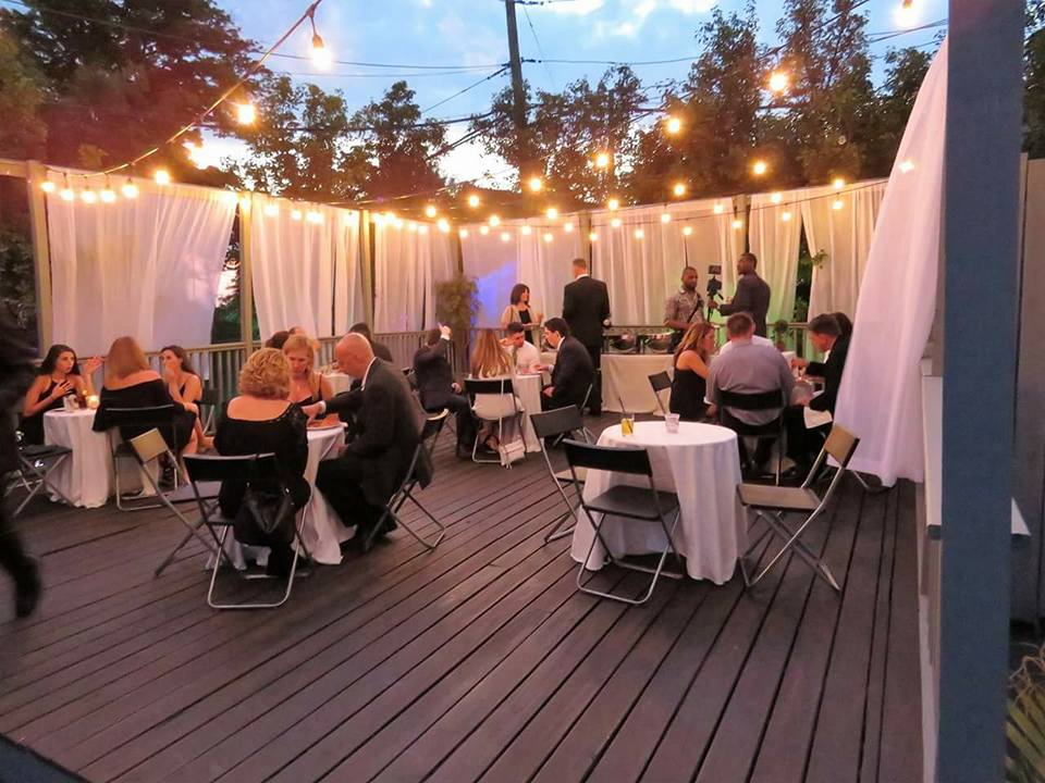 outdoor lounge seating party - eve event space
