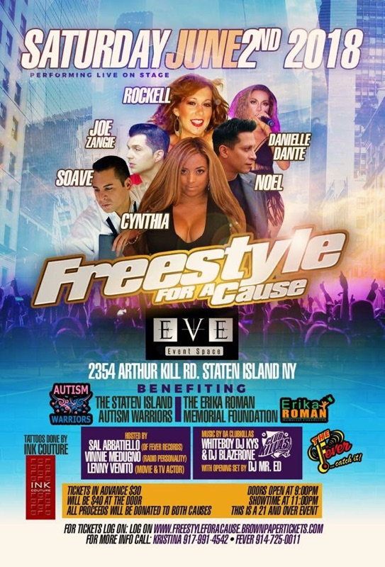 Freestyle for a Cause Staten Island NY