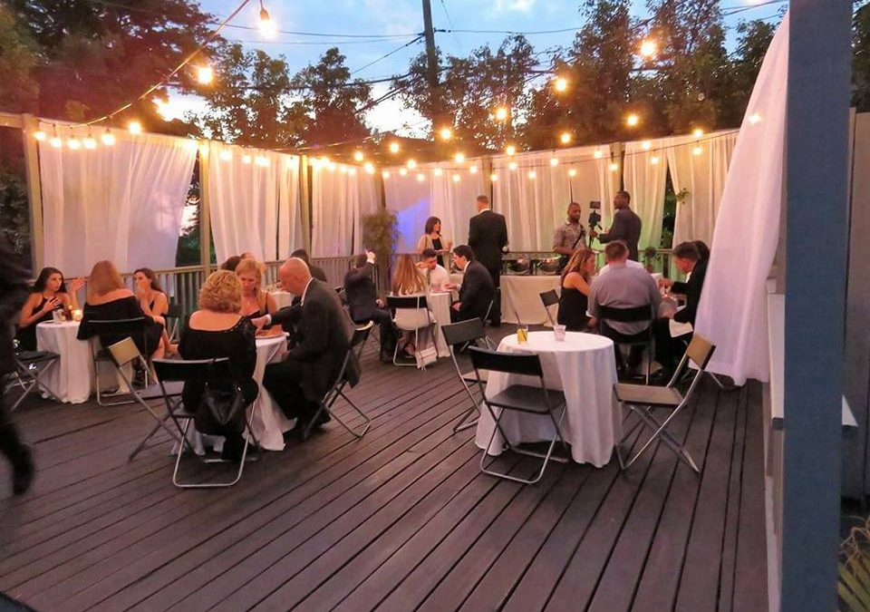 Summer Event Spaces in Staten Island with Outdoor Seating