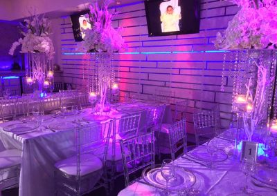 party table decor - eve event space