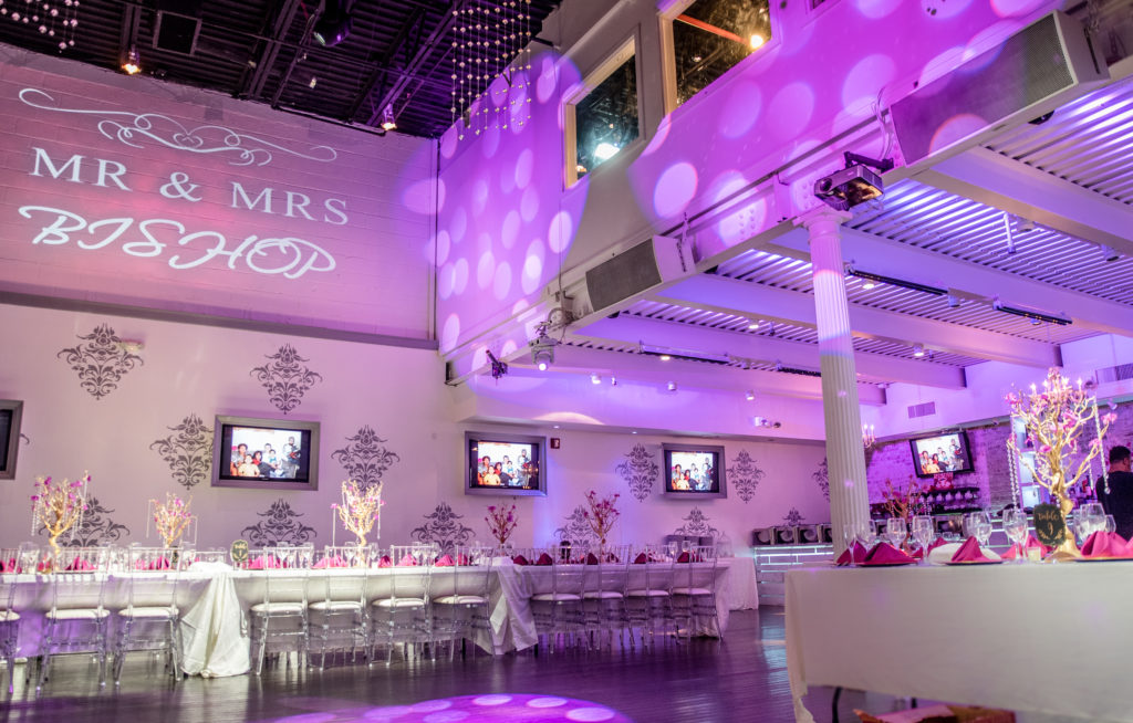 Staten Island event space configuration options