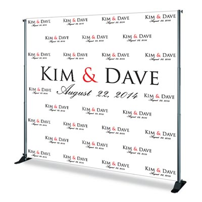 custom printed event backdrops